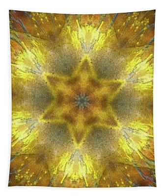 Star Kaleidoscope Tapestry