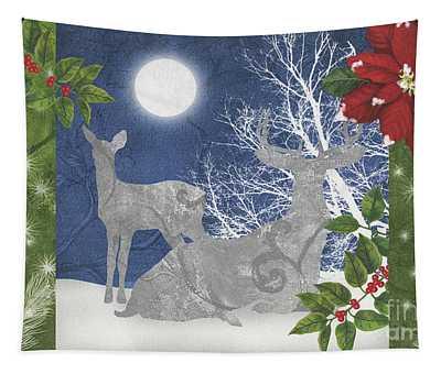 Starlight Christmas Ix Tapestry