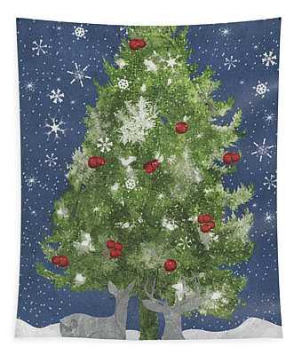 Starlight Christmas Xi Tapestry