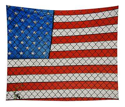 Stars And Stripes  Tapestry