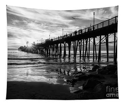 Stars And Swirls In Oceanside Tapestry
