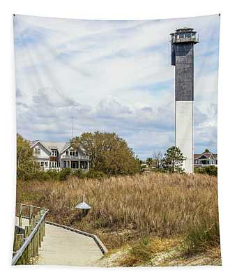 Station 18 On Sullivan's Island, Sc Tapestry