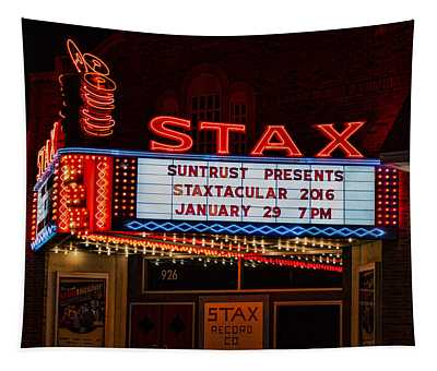 Staxtacular Night Tapestry