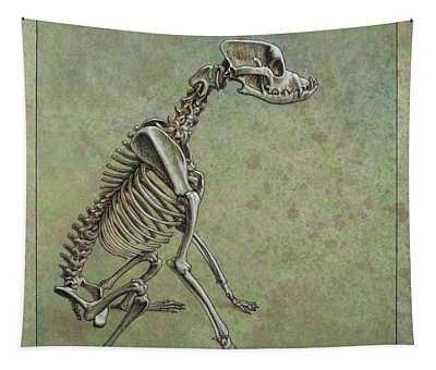 Animal Skeleton Wall Tapestries