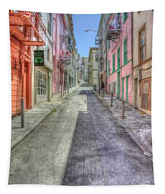 Steep Street Tapestry