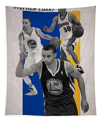 Stephen Curry Golden State Warriors Tapestry