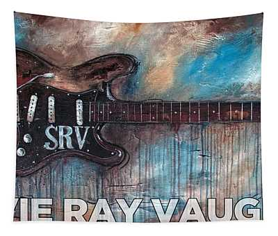 Stevie Ray Vaughan Double Trouble Tapestry