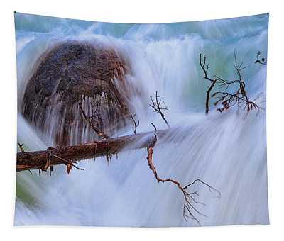 Sticks And Stones Tapestry