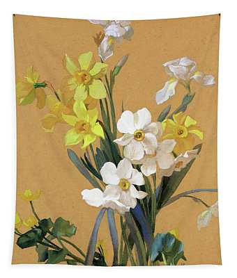 Still Life With Spring Flowers Tapestry
