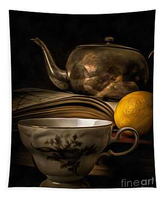 Still Life With Tea Cup Tapestry
