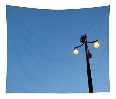 Stockholm Street Lamp Tapestry