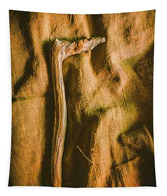 Stone Age Tools Tapestry