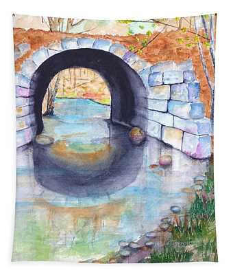 Stone Arch Bridge Dunstable Tapestry