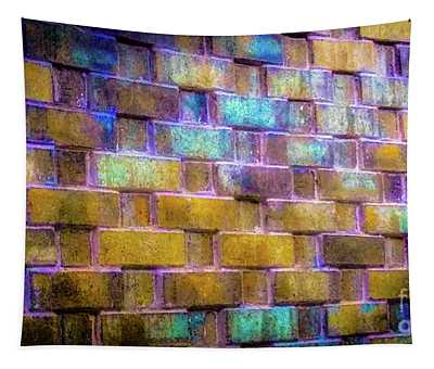 Brick Wall In Abstract 499 Tapestry