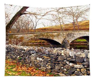 Stone Wall - Stone Bridge Tapestry