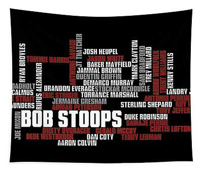 Stoops Greatest Sooners Tapestry