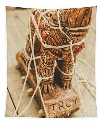 Stories From Ancient Troy Tapestry
