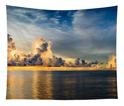 Stormy Clouds  Tapestry