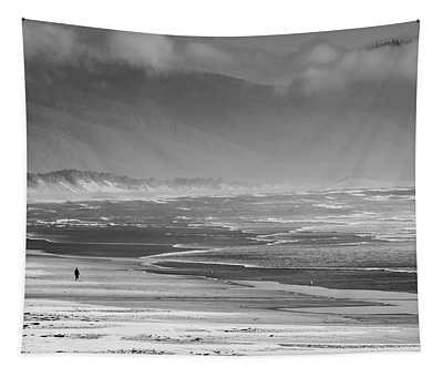 Stormy Oceanside Oregon Tapestry