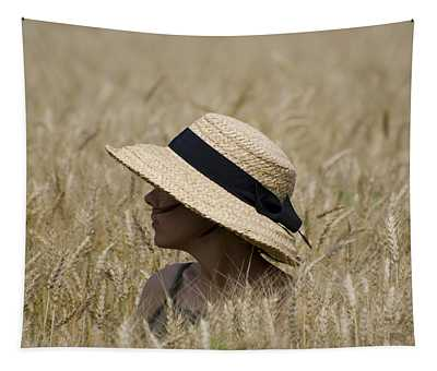 Straw Hat Tapestry