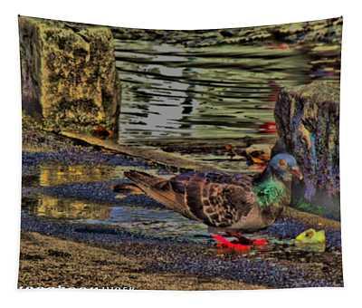 Street Walker Tapestry