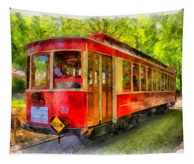Streetcar 23 Tapestry
