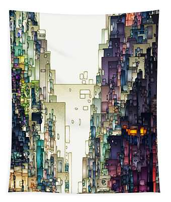 Streetscape 1 Tapestry