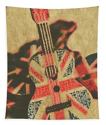 Stringed In Great Britain Tapestry