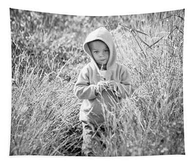 Strolling Through The Weeds Tapestry