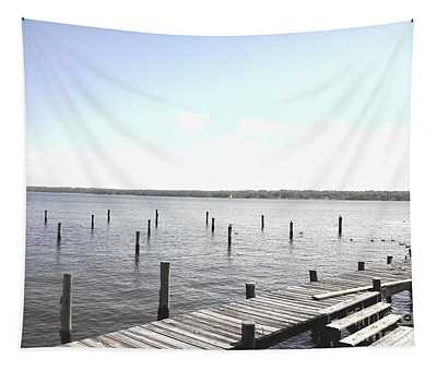 Stubs In Water Tapestry