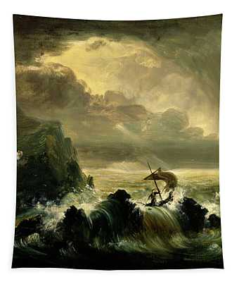 Study For The Voyage Of Life Manhood Tapestry