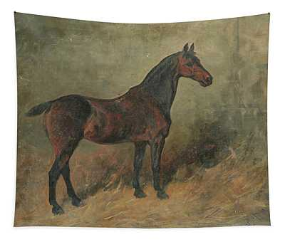 Study Of A Horse Tapestry