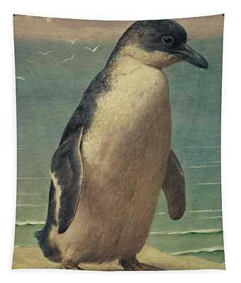 Study Of A Penguin Tapestry