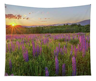 Sugar Hill New Hampshire Lupine Tapestry