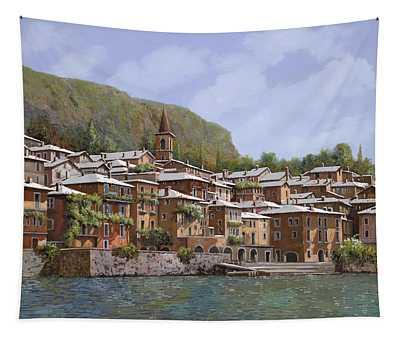 Sul Lago Di Como Tapestry