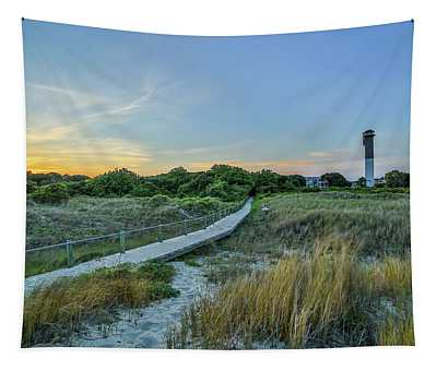 Sullivan's Island Evening Tapestry