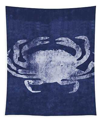 Summer Crab- Art By Linda Woods Tapestry