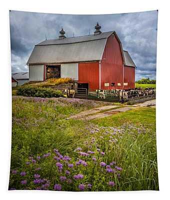 Summer Farm Tapestry