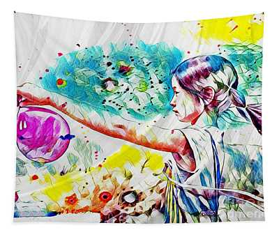 Summer In China Tapestry