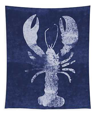 Summer Lobster- Art By Linda Woods Tapestry