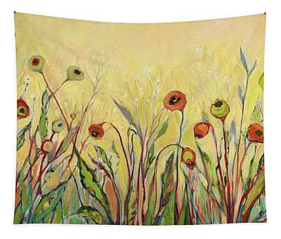Summer Poppies Tapestry