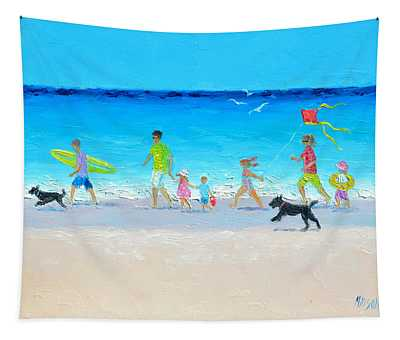 Summer Vacation Time Tapestry