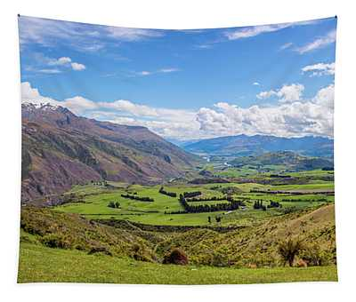 Summit View New Zealand II Tapestry