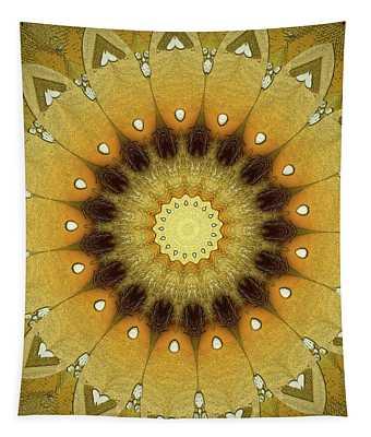 Sun Kaleidoscope Tapestry