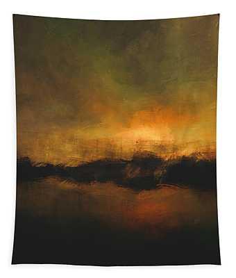 Sun Over Treeline Tapestry
