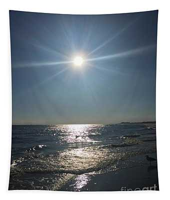 Sunburst Reflection Tapestry