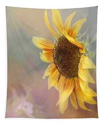 Sunflower Art - Be The Sunflower Tapestry