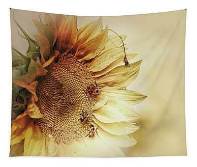 Sunflower Days Tapestry
