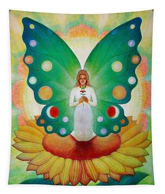 Sunflower Fairy Tapestry