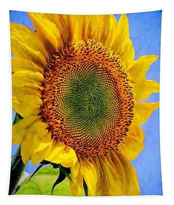 Sunflower Plant Tapestry